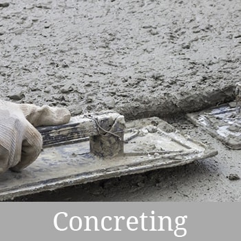 J.I Joinery - concreting